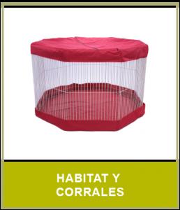 Habitat y Corrales para tu Hurón